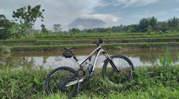 Merapi  Mt. via Kaliadem to Prambanan cycle ride