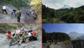 Daily Soft Trekking Slope Mount Merapi Starting Kaliurang